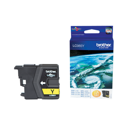 Brother LC985Y ink cartridge yellow