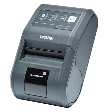 Brother Mobile printer RJ-3050 Wi--Fi and Bluetooth