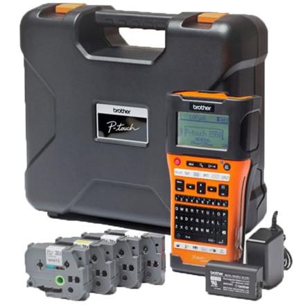 Brother PT-E550WSP - Startsæt med kuffert og 4 ruller labeltape