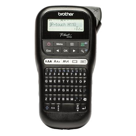 Brother PTH110 - Håndholdt etiketprinter