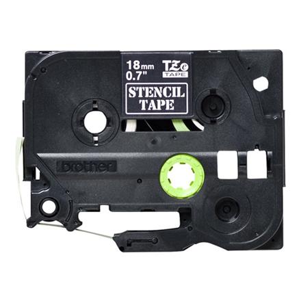 Brother ST141 - 18 mm stempel/elektrolyse tape