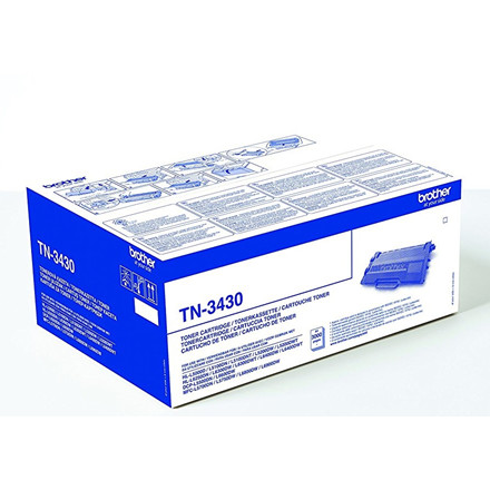 Brother TN-3430 - Sort Laser Toner