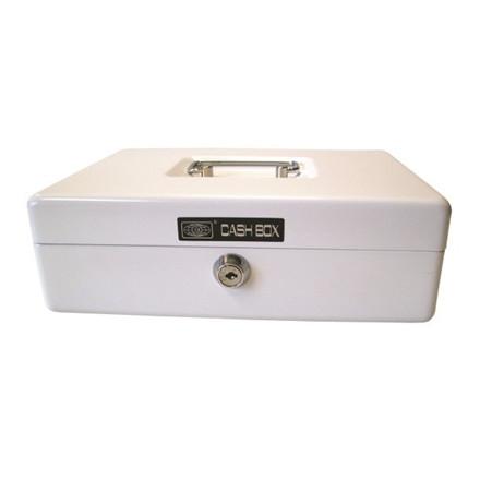 Büngers Cash Box 701 - Hvid pengekasse 15 x 12 x 8 cm