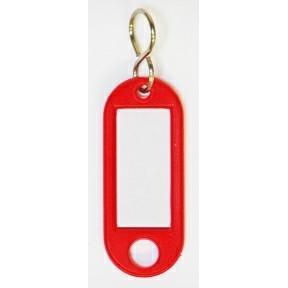 Nøglering med s-krog - Rød