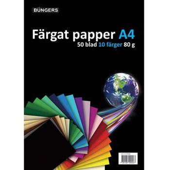 Büngers Paper A4 80g assorted 50 sheets