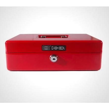 Pengekasse 703 Büngers 25x18x8 cm - rød