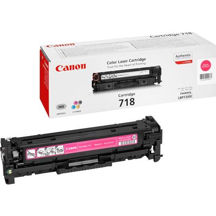 Canon 718M magenta toner cartridge