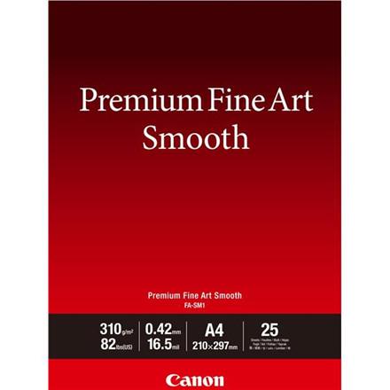 Canon - A3+ FA-SM1 FineArt Premium Smooth 310 gram - 25 ark