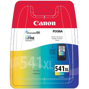 Canon CL-541 XL color ink cartridge, blistered