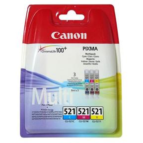 Canon CLI-521 c/m/y multi-pack