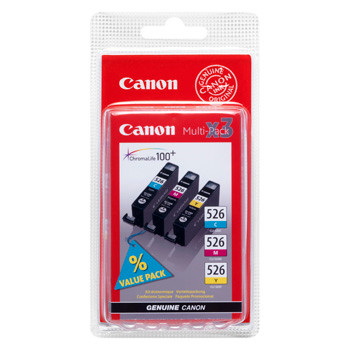 Canon CLI-526 C/M/Y multi-pack