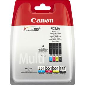 Canon CLI-551 c/m/y/bk multi-pack