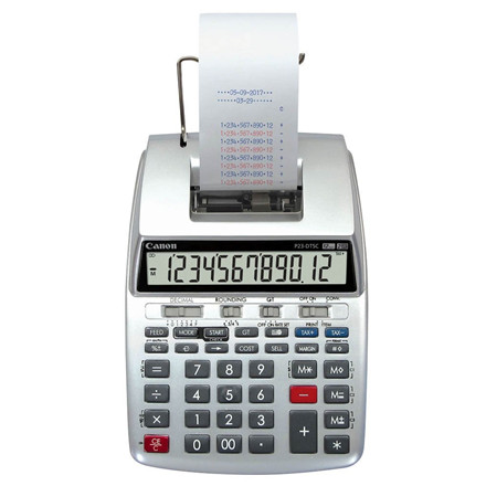 Strimmelregnemaskine Canon P23-DTSC II desktop printing calculator