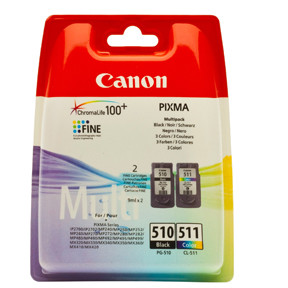 Canon PG-510 black / CL-511 color multi-pack