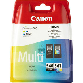 Canon PG-540 black / CL-541 color multi-pack