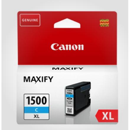 Canon PGI-1500XL ink cartridge cyan blistered