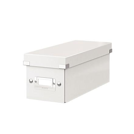 CD-boks Leitz Click & Store hvid 143x147x352 mm