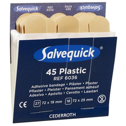 Cederroth Plaster Plast 6 Refiller/æsker 6036