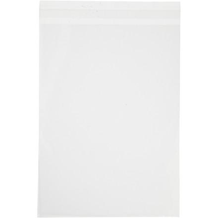 Cellofanpose, B: 16,8 cm, H: 23 cm, 50stk., 30 my