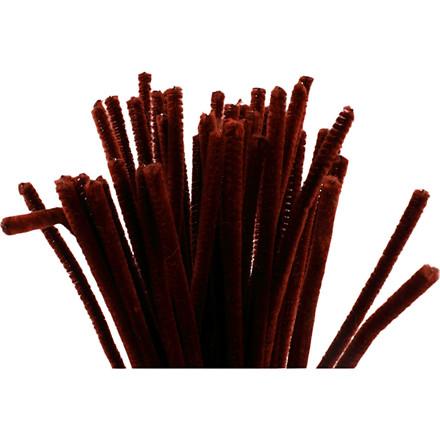 Piberensere tykkelse 6 mm længde 30 cm gammel rød - 50 stk.