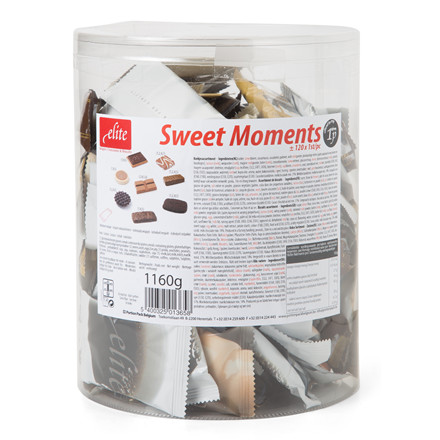 Chokolade Sweet Moments - 2 x 120 stk