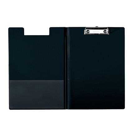 Esselte clipboard A4 med forside og inderlomme 56047 - Sort