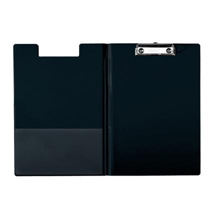 Esselte clipboard A4 med forside og inderlomme 56047 - Sort