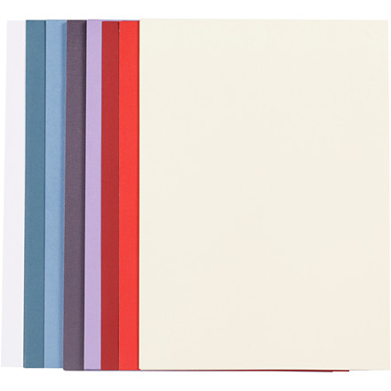 Colorful karton, A4 210x297 mm, 250 g, 50ass.