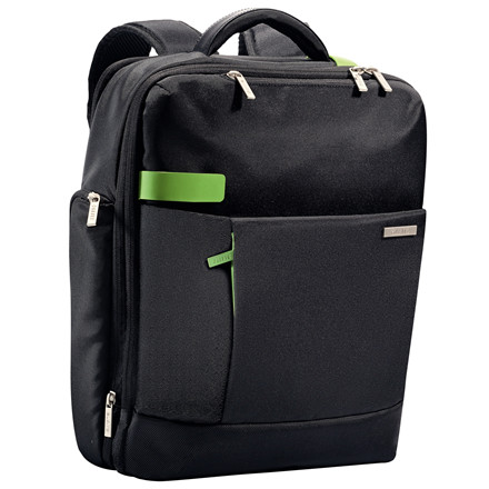 "Computerrygsæk Smart Traveller 15,6"" Leitz sort"