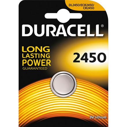 CR2450 Batteri - Duracell - 1 stk
