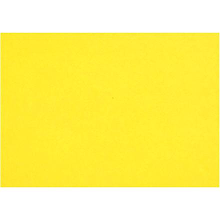 Creativ papir, A4 210x297 mm, 80 g, gul, 20ark