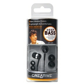 Creative EP630 In-Ear Black