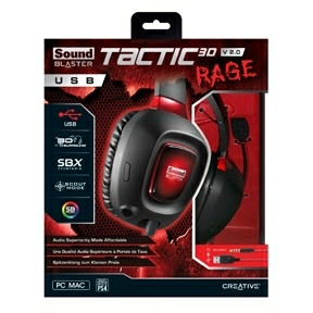 Creative Sound Blaster Tactic3D Rage USB Gaming Headset V2.0