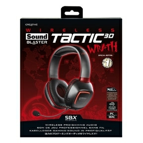 Creative Sound Blaster Tactic3D Wrath Wireless Gaming Headset