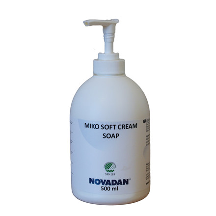 Novadan MIKO Soft Cream Soap Cremesæbe - 500 ml