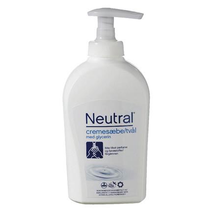 Neutral Cremesæbe uden parfume - 250 ml