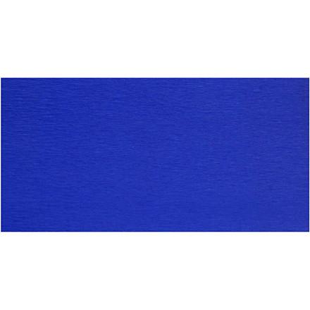 Crepepapir blå 50 x 250 cm - 10 læg