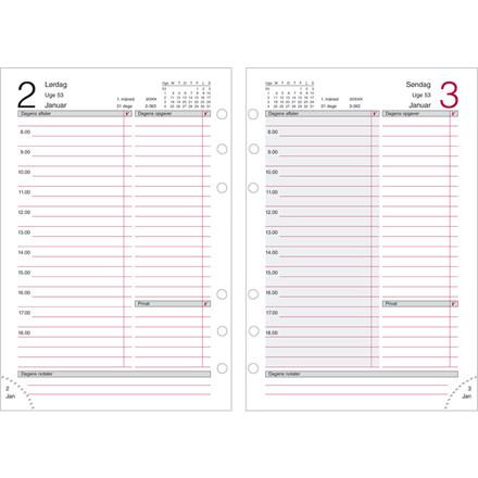 Dagkalender Mayland 2019 System MM REFILL 12 x 17 cm - 19 2850 00