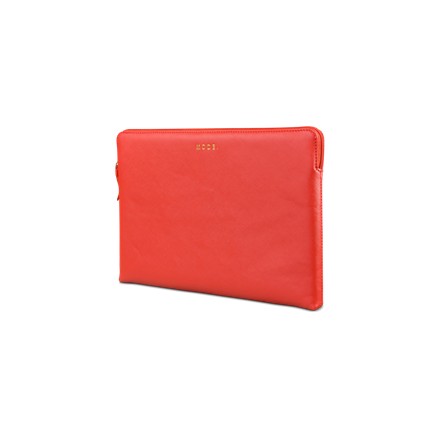 Dbramante1928 13'' MacBook Air Case Paris, Red Lava