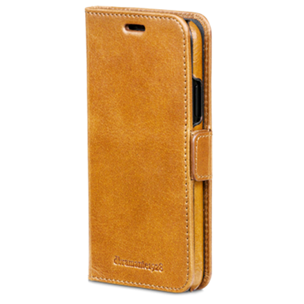 Dbramante1928 Copenhagen Golden Tan - Flipcover til iPhone X