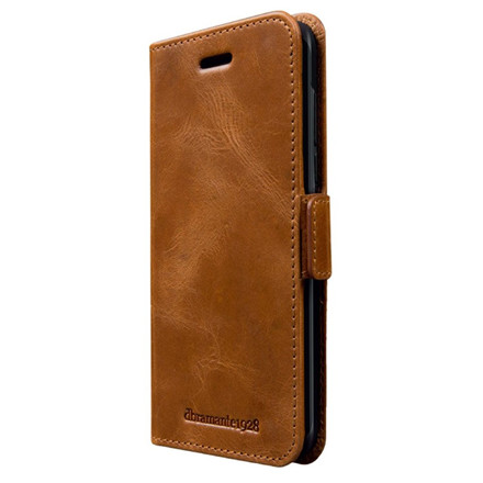 Dbramante1928 Copenhagen Tan -  Wallet case til Galaxy S9