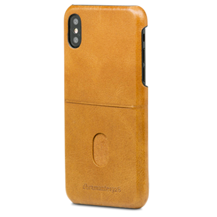 Dbramante1928 iPhone X Case Tune CC, Golden Tan