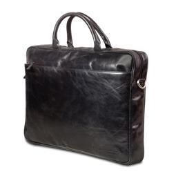 Dbramante1928 Leather briefcase Amalienborg up to 16'' - black