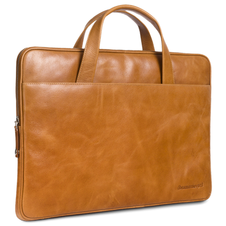 Dbramante1928 Leather case Silkeborg for PC & MacBooks up to 15'' - golden