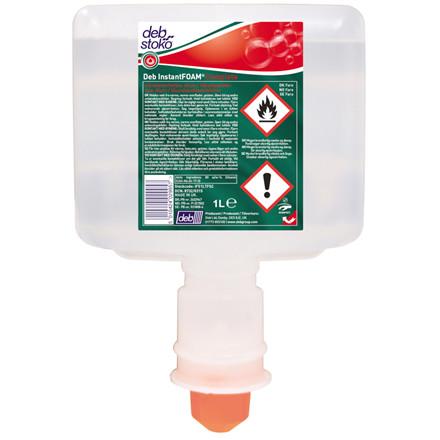 Deb InstantFOAM Hånddesinfektion uden parfume til touchfree dispenser | 1000 ml