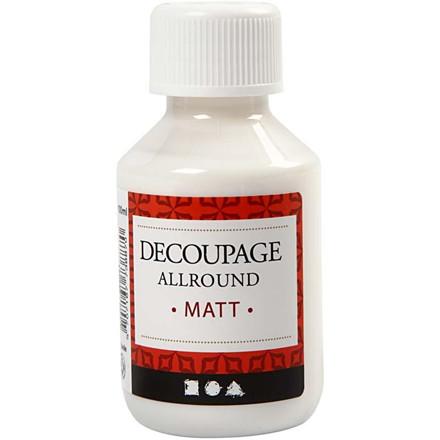 Decoupagelak mat - 100 ml