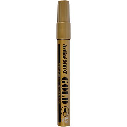 Dekorationstusch, stregtykkelse: 2,3 mm, guld, 1stk.