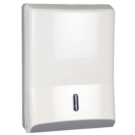 Dispenser, Abena, til alle typer håndklædeark, hvid, maxi,