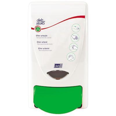 Dispenser, Deb, manuel, grøn, 1000 ml,