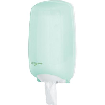 Dispenser Eco Line - til mini håndklæder - grøn